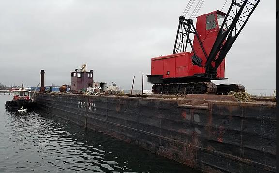 B-1023 Deck Barge