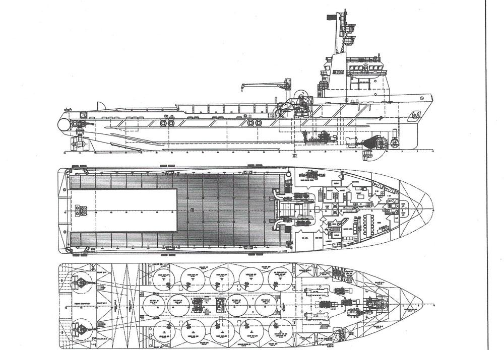 S-174 245' Supply Vessel