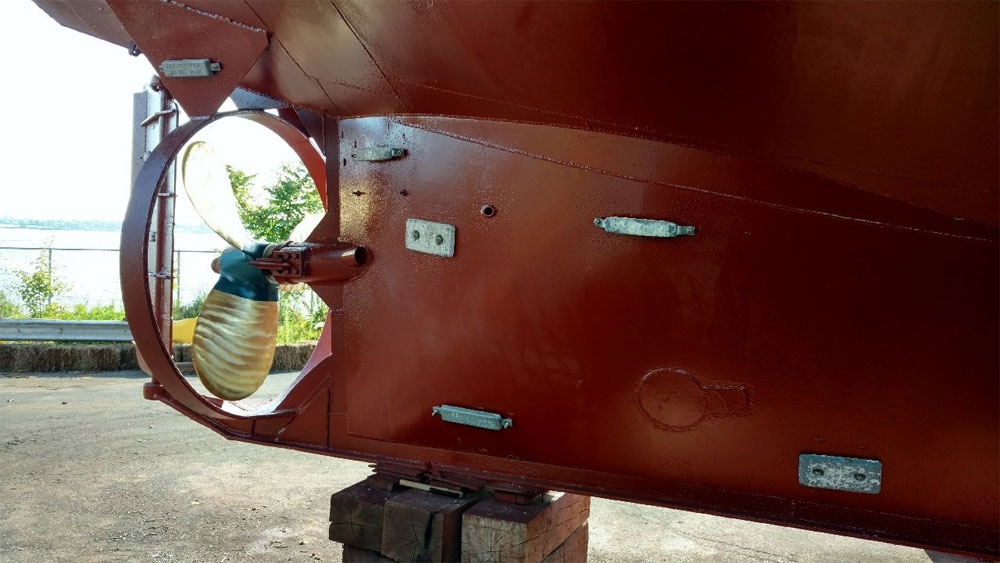 C-180 Steel Island Cargo