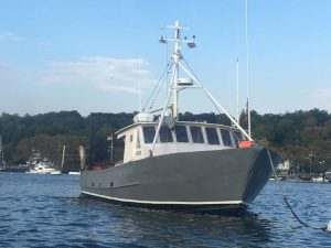 F-164 50′ Steel Fishing/Lobster Boat