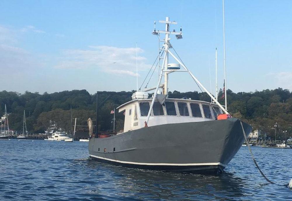 F-164 50′ Steel Fishing/Lobster Boat