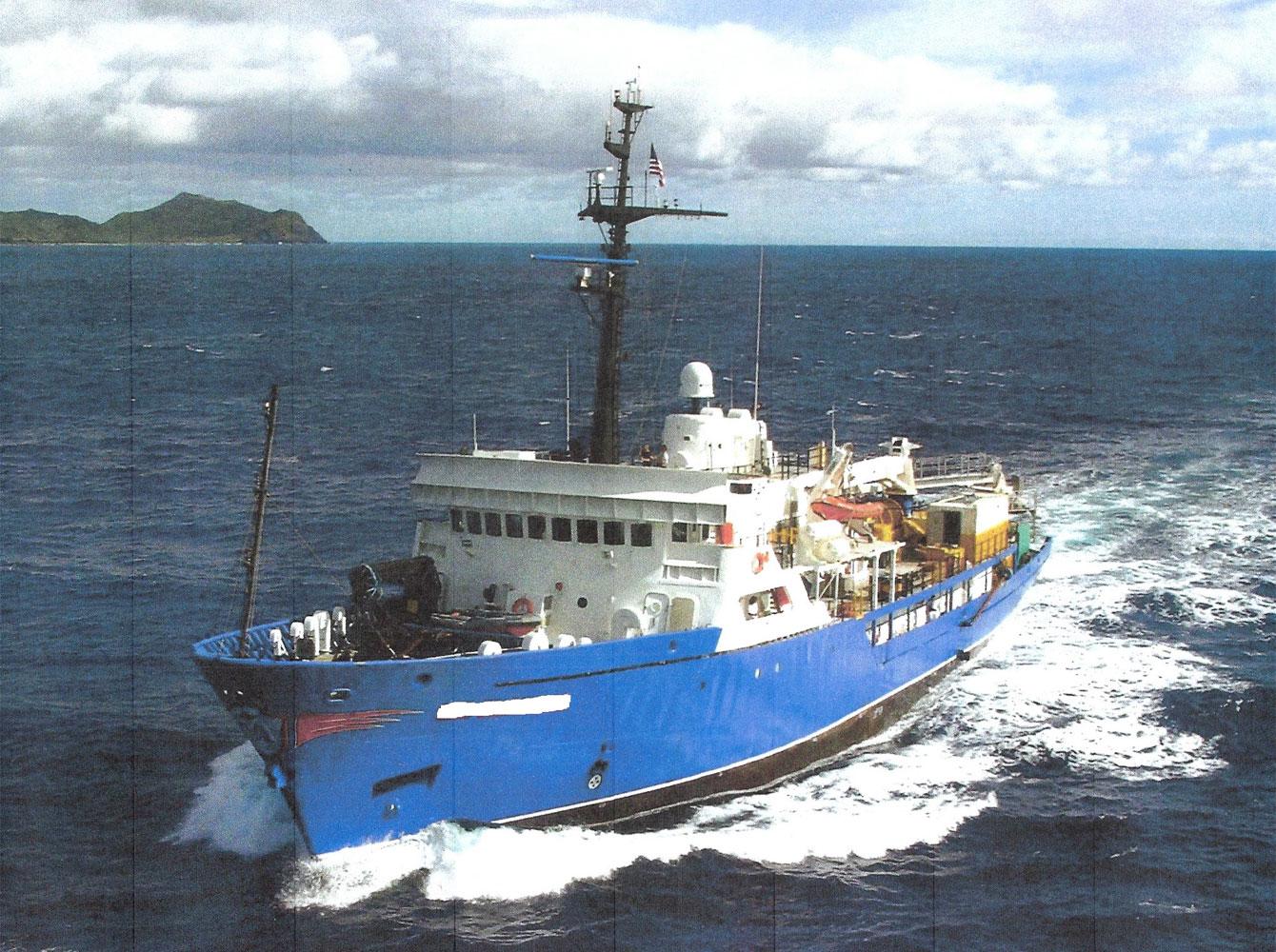 R-100: 231' Research Vessel