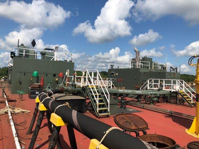 B-1022 55K BBL Hot Oil Tank Barge