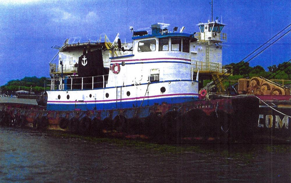 T-166: 80' Steel Tug